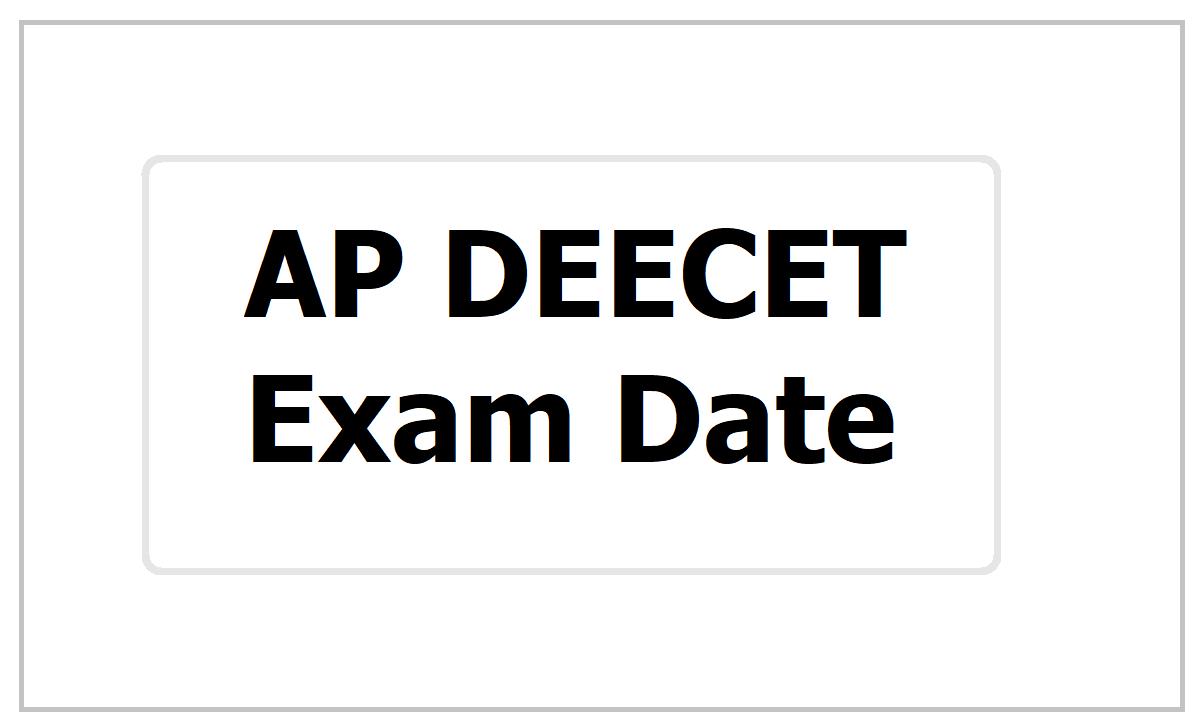 AP DEECET Exam Date 2021