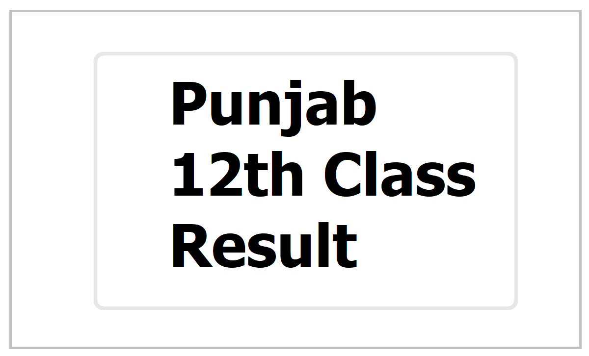 Punjab 12th Class Result 2021, How to check PSEB Sr Secondary result at pseb.ac.in