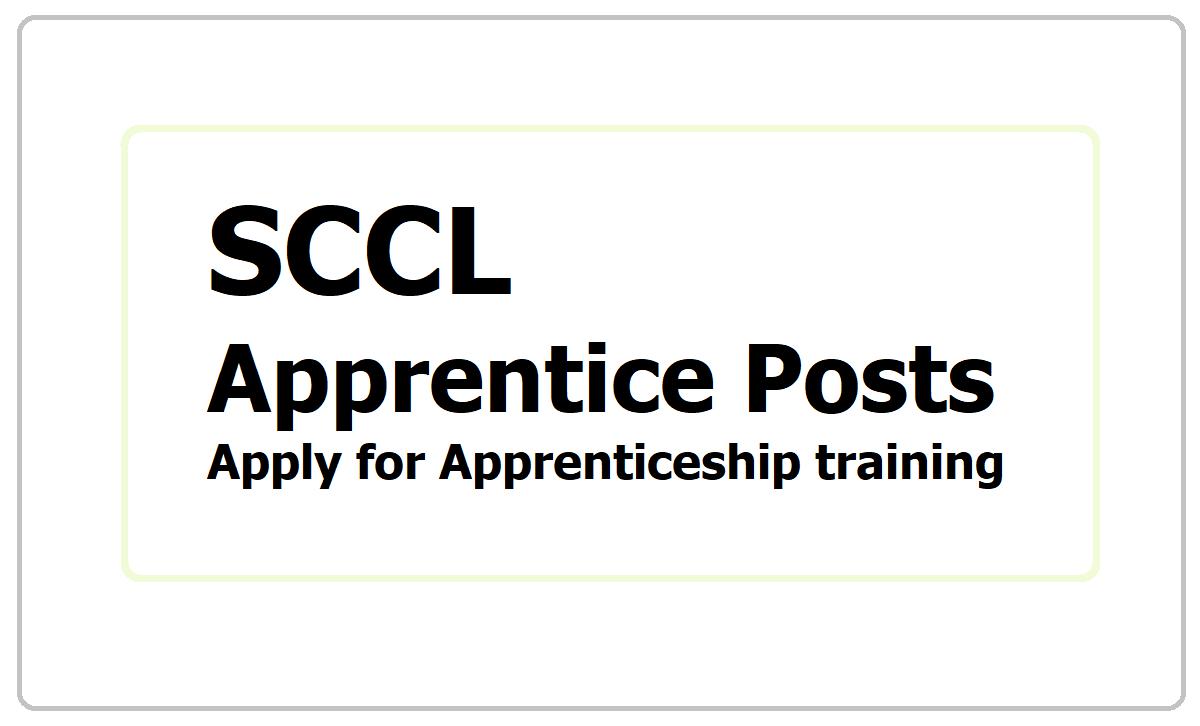 SCCL Apprentice 2021 Recruitment, Apply for Apprenticeship training