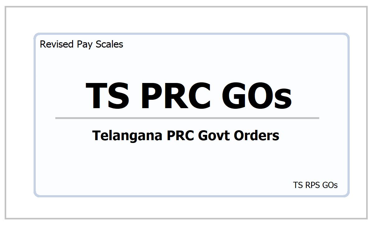 TS PRC GOs 2021
