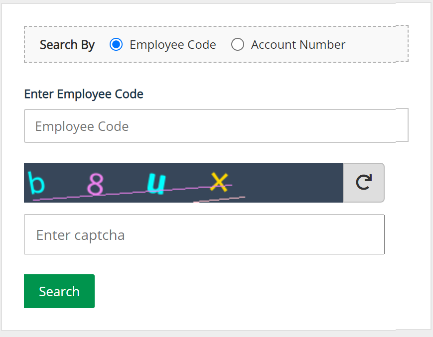 Pay Slip Search