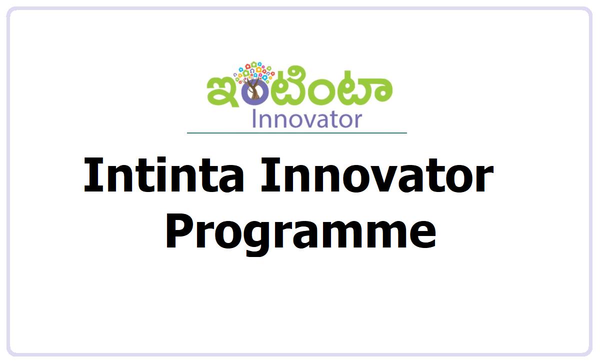 Intinta Innovator exhibition 2021