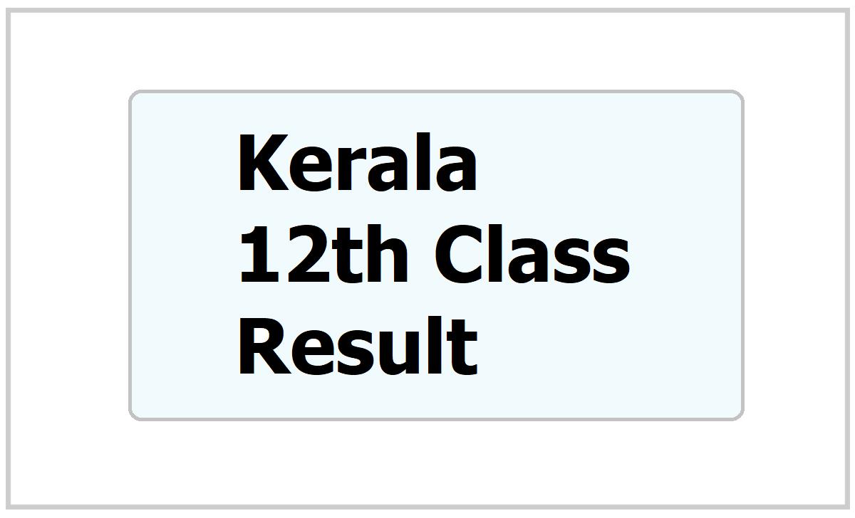 Kerala 12th Result 2021