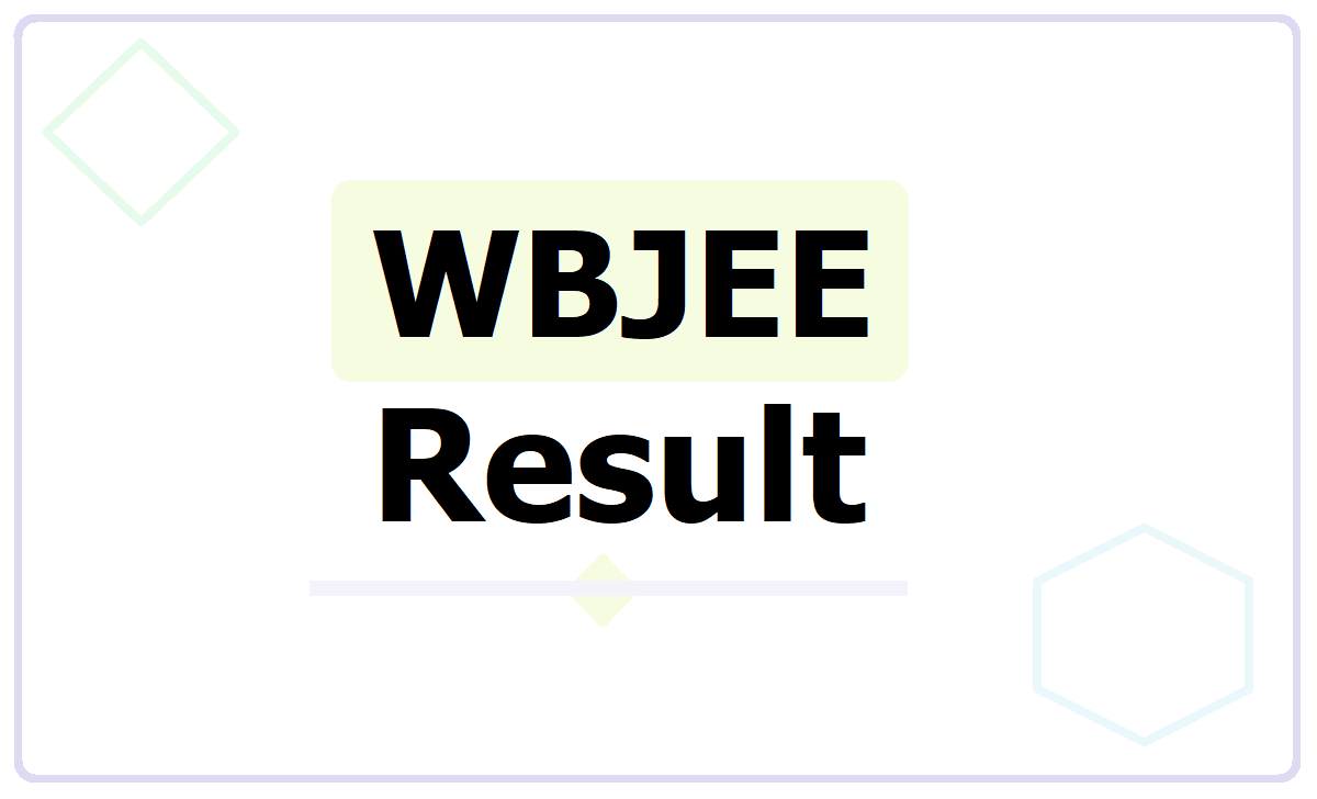 WBJEE Result 2021, How to check result at wbjeeb.nic.in