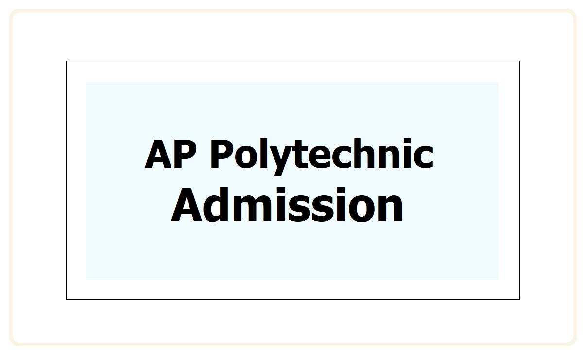 AP Polytechnic Admission 2021
