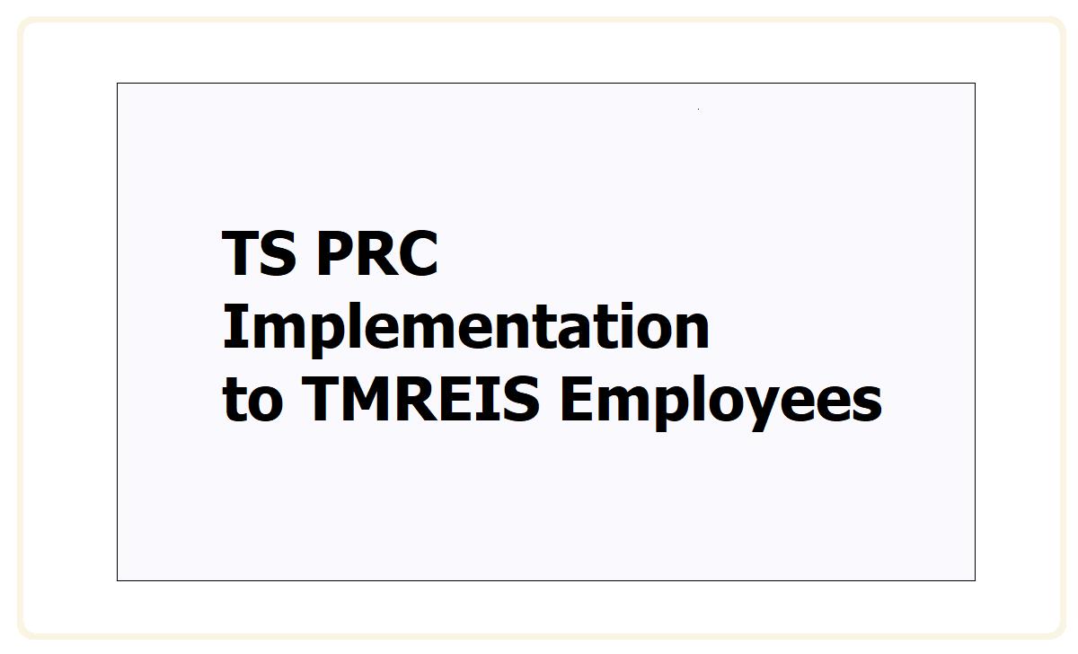 TS PRC 2021 Implementation to TMREIS Employees