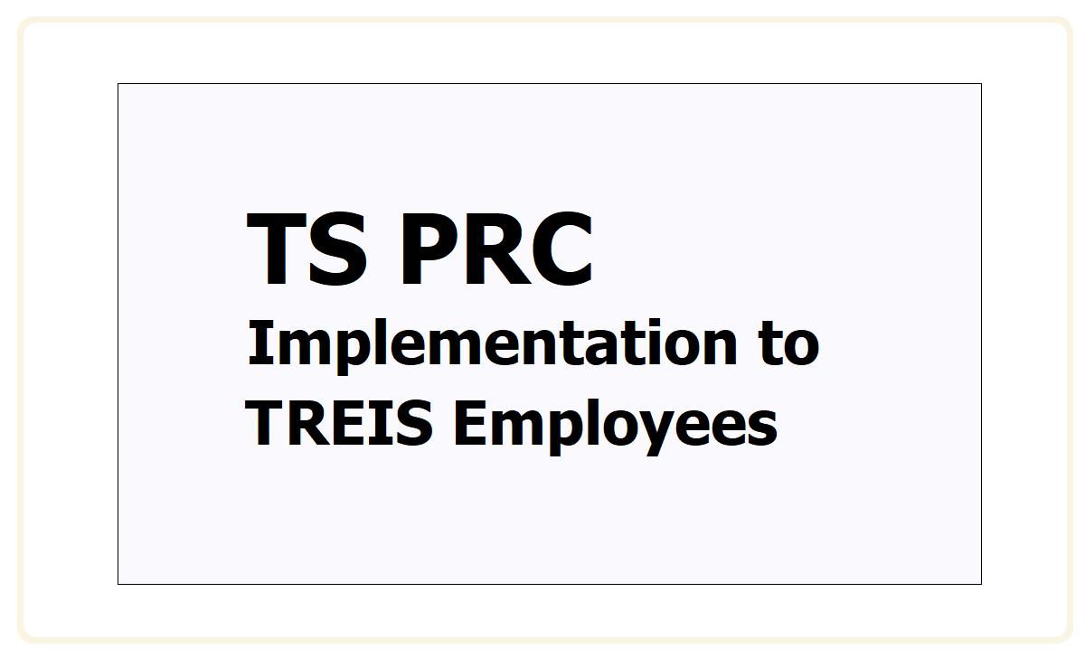 TS PRC Implementation to TREIS Employees 2021