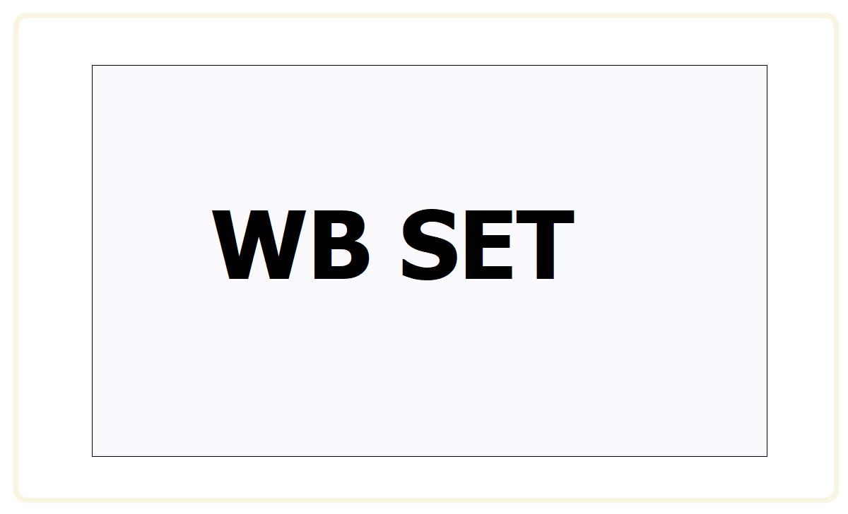 WB SET 2021
