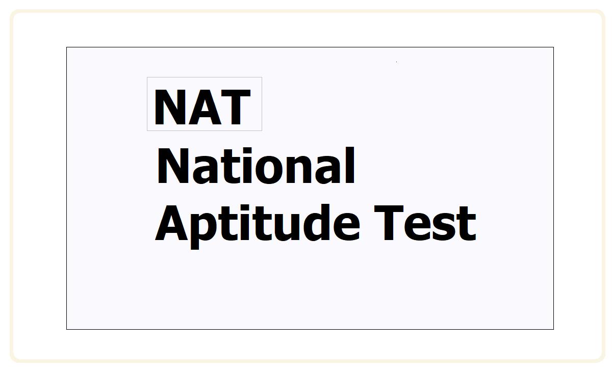 National Aptitude Test